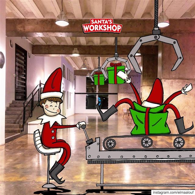 - GET ME OUT OF HERE!!!! 🎁- elfontheshelf ..... liveloveart ... (Santa's Workshop)