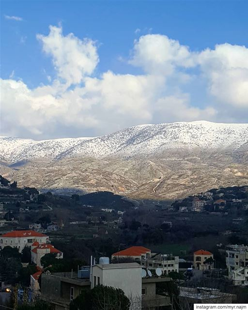 White, far & untouchable ❄ .......... Lebanon  chouf  barouk ... (Mount Lebanon Governorate)