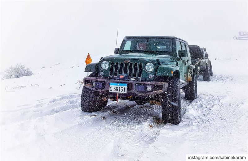 lebanon  jeeps  mountains  jeep  offroad  wrangler  snow  jeeplife ...