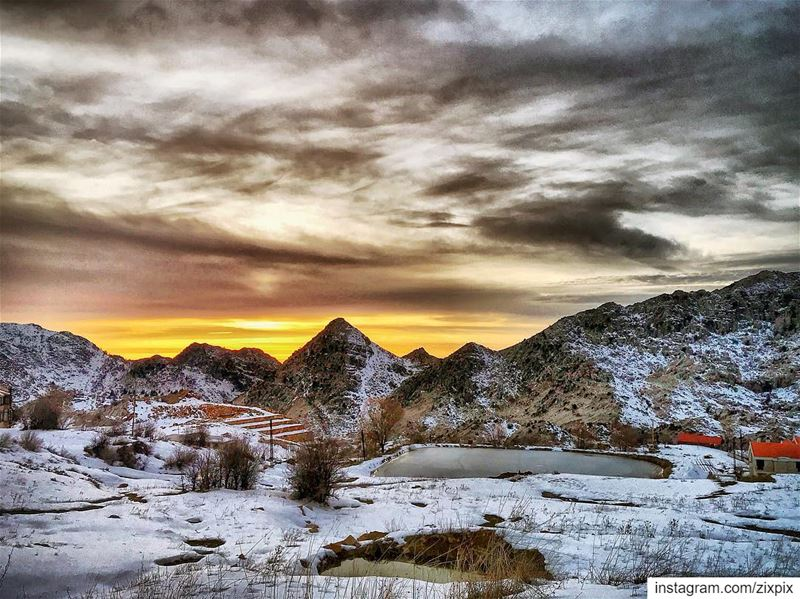 sunset  snow  nature  sky  photooftheday  picoftheday  igdaily ...