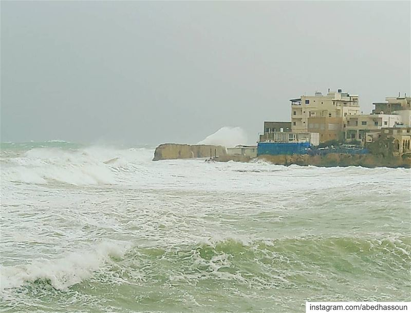 🌊........... storm   waves  harshsea  main_vision  Lebanon  ... (NCMS-National Center for Marine Sciences  / CNRS-Lebanon)