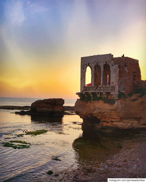 Lovely Batroun ❤ sunset  sunsetlovers  livelovebeirut  beirut ... (Batroûn)