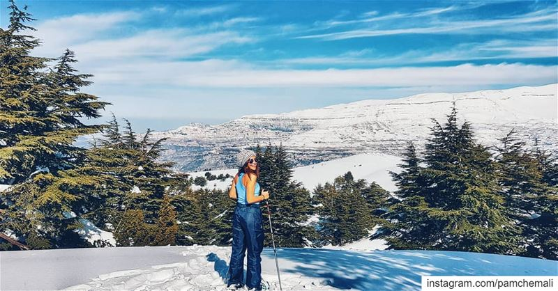 ....couldn't be better ❄🎿 Thank u to:1) @goguidehadatheljebbeh for one... (Hadath El-Jubbah, Liban-Nord, Lebanon)