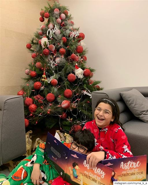 325 days till Christmas 🎄 Can't wait 😊  winter2019  mykids ... (Beirut, Lebanon)