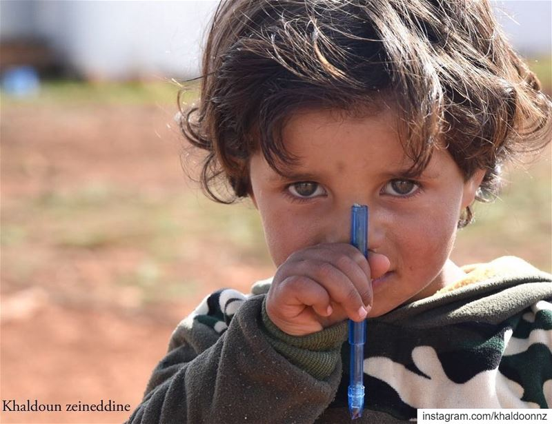 Imad is a 6-year-old refugee from Syria living in  Taybeh refugee camp... (Lebanon)