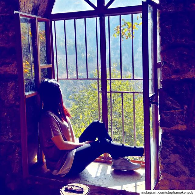 When life closes a door, God opens a window 🍁🍃 lostplaces  sheisnotlost...