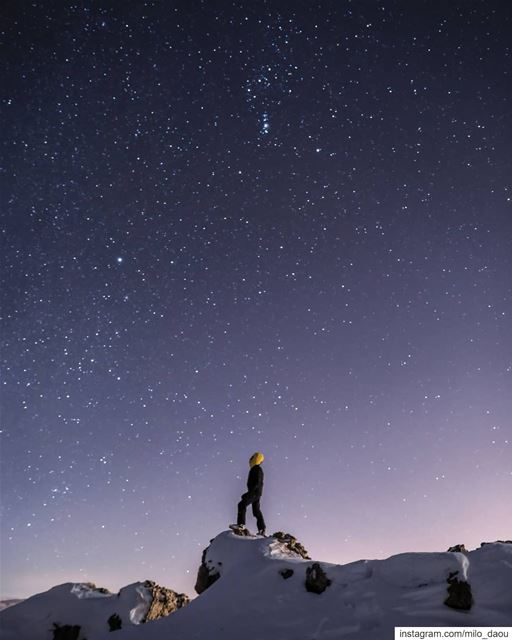 Let the stars be your guide. 🌌✨❄️🏔️ stars  nightphotography  nakedplanet...