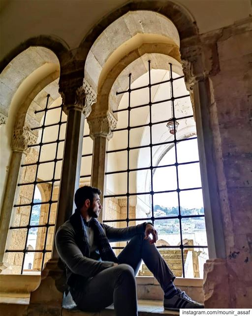 *acting like I own the place* 🏰  beiteddine  palace  chouf  lebanon ... (Beiteddine Palace)