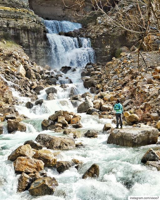 Water is the driving force of all nature.... waterfalls ... (Lebanon)