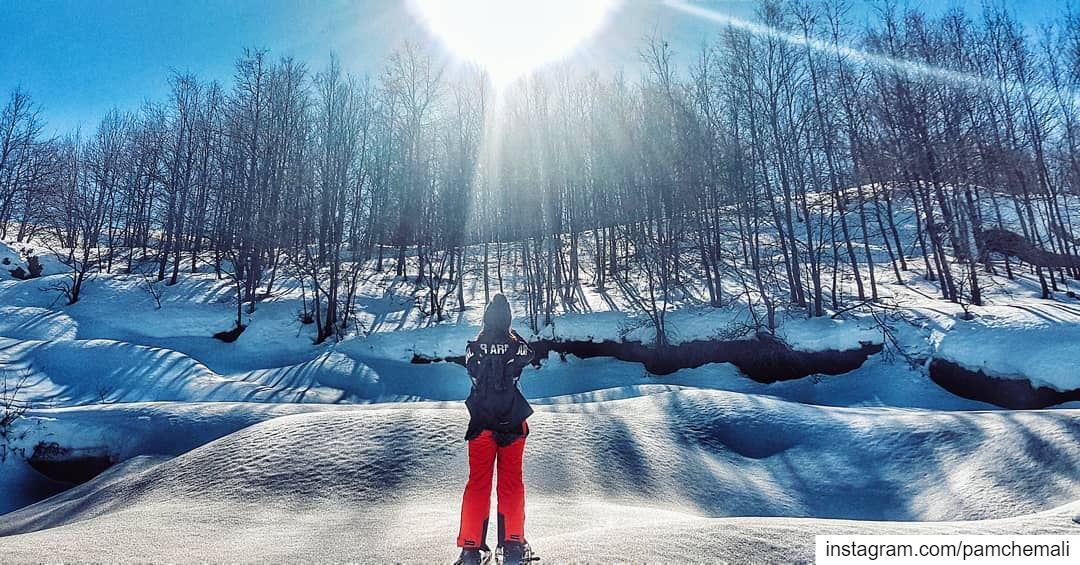 Ready for the  weekend?🔝⛷ 📍 @ahlamvillage📸 @yaraelkassis ........ (AHLAM Golf & Mountain Village)