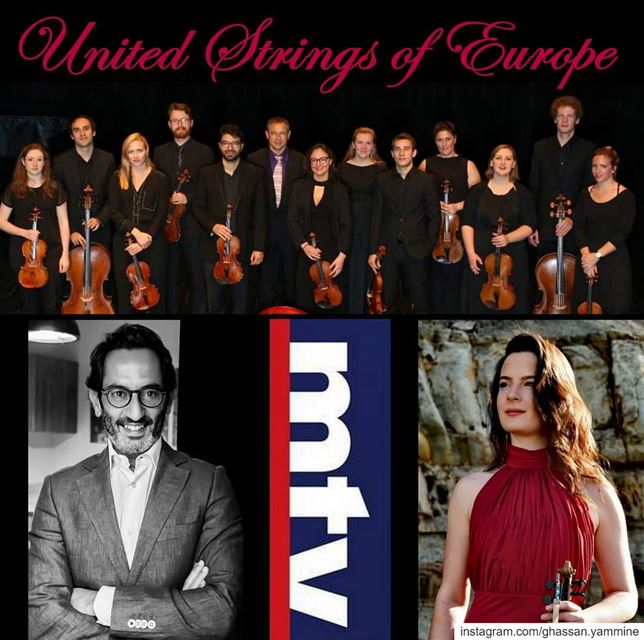"The United Strings of Europe in ""Musical"" on Sunday @12:05pm @mtvlebanon... (MTV Lebanon)"