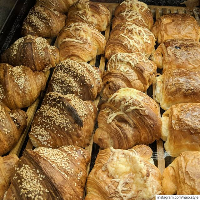 goodmorning🌞   breakfast  croissants   croissant🥐   fresh  yummy ...