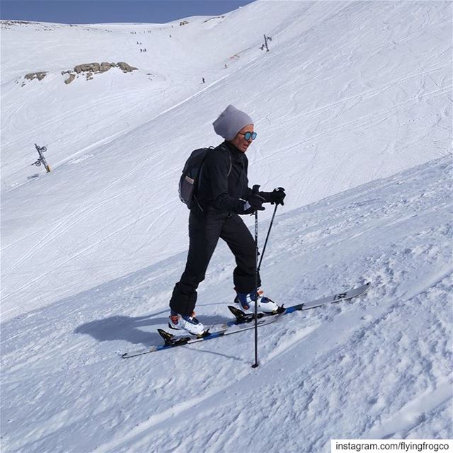 An awesome ski touring session!!..... skiing  ski  snow  winter ...