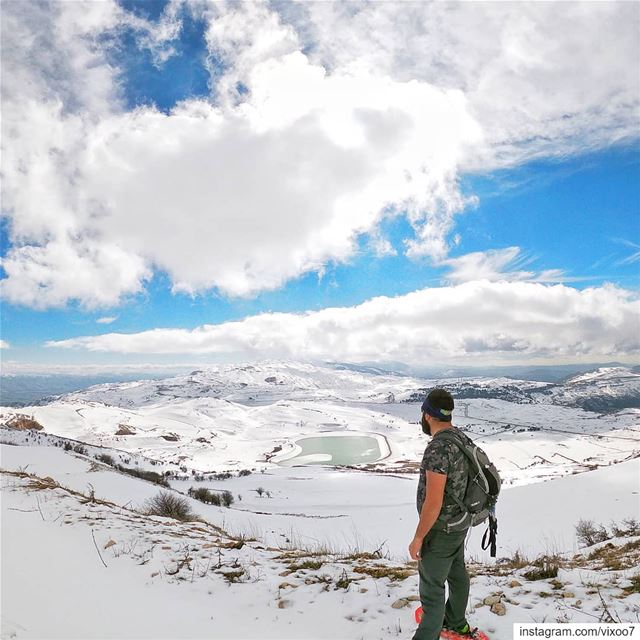 The past cannot be changed. The future is yet in your power. .... snow... (Falougha, Mont-Liban, Lebanon)