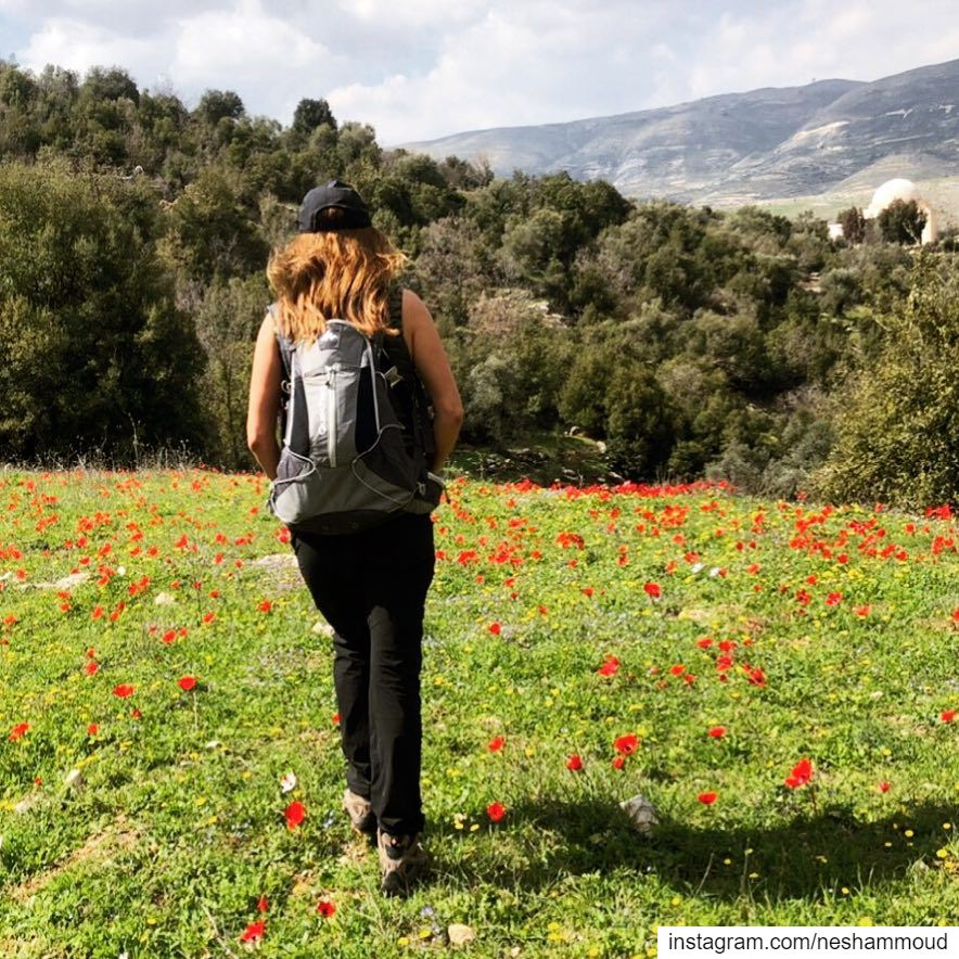 The best days are when you don't want to leave 👣🌷💚 bestofthedays ... (El-Kfeir, Al Janub, Lebanon)