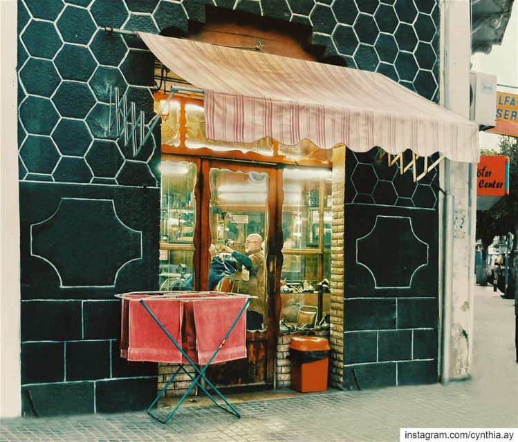 saturday  haircut  vintage  retro  livelovemarmikhael  livelovebeirut ... (Beirut, Lebanon)