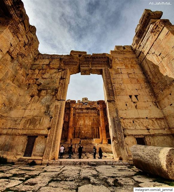 You were born for greatness.  Remember that. history  great  greatness ... (Baalbek , Roman Temple , Lebanon)