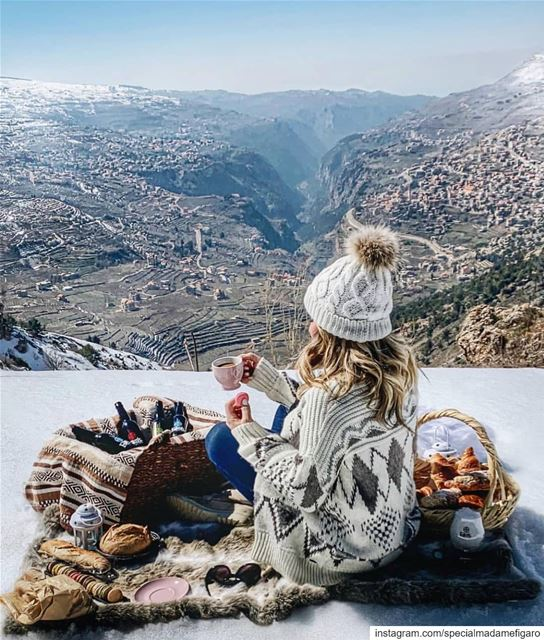 How about a picnic on top of a Lebanese mountain this weekend?  lebanon ...