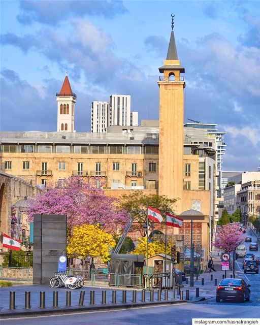 Beirut springOn a beautiful morning Is a marvelous painting Which... (Beirut, Lebanon)