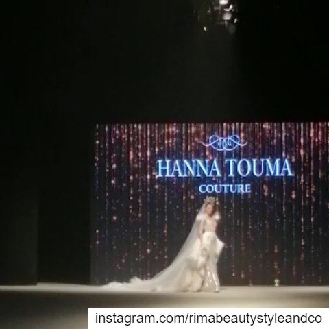 Beautiful  bride for  hannatouma @hannatoumacouture  hautecouture ... (Biel)