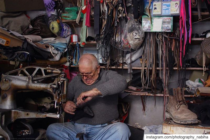{People in their shop) Abu Haydar: one of the first Photos I took about 6...
