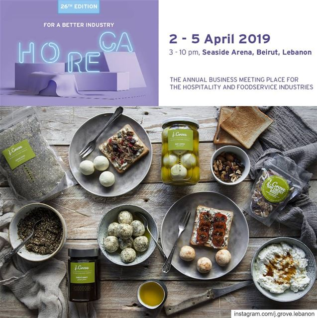 Back to Lebanon in time for another exciting event: @horecatradeshow at...