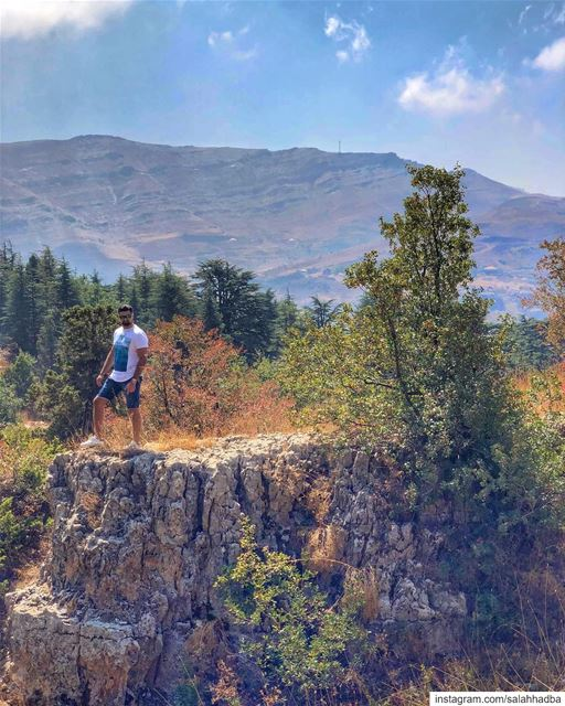 We escape to wilderness to be soothed and healed, and to have our senses... (Lebanon)