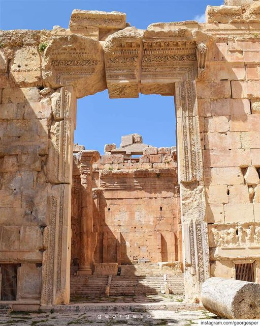 You cannot miss this feeling of Greatness once you step into Bacchus... (Baalbek, Lebanon)