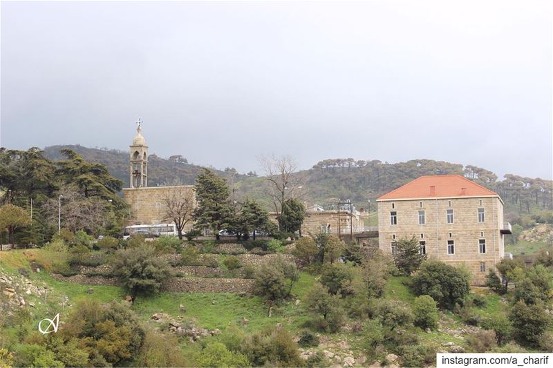 monastery  church  christian  catholic  catholicchurch  lebanon  building... (Jezzine District)