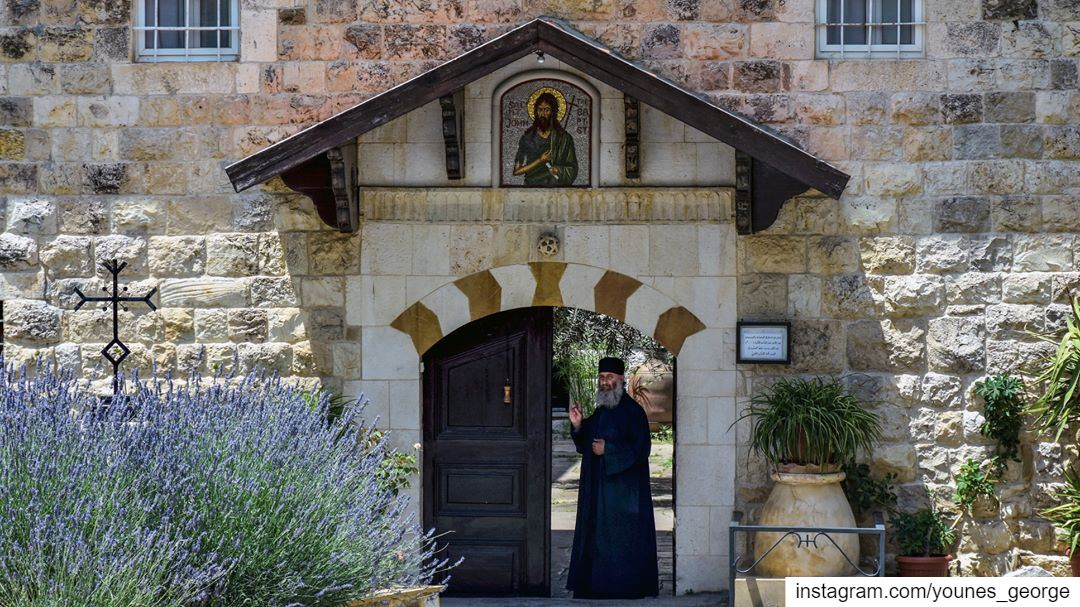 Happy Easter! (Julian Calendar/Eastern/Orthodox Rites)See more of my... (St. John the Baptist Monastery - Douma)