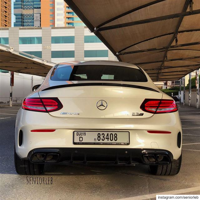 New AMG C63 S Coupe Facelift looks better than ever. It's my top 3 sports... (Dubai, United Arab Emirates)