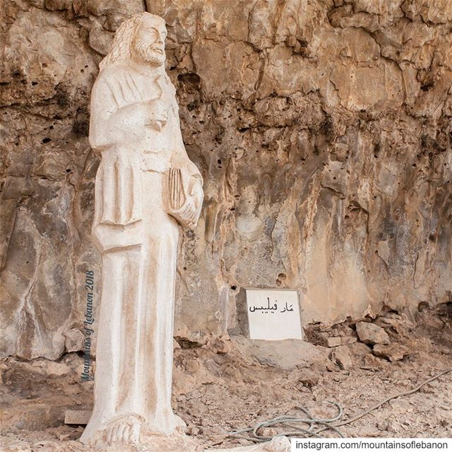 May 3rd is Philip the Apostle's Feast day (for western calendar). Local... (Akoura, Mont-Liban, Lebanon)