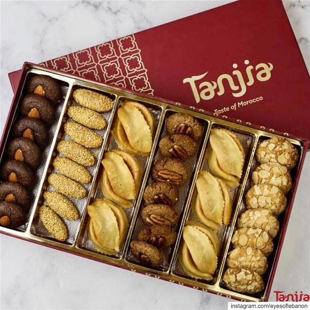 Appetizing almonds treats 😍@tanjia_gourmet_shop offers one of the... (Lebanon)