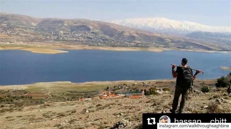 "Repost @hassan__chitt with @get_repost・・・""Do what makes you happy and... (Saghbîne, Béqaa, Lebanon)"
