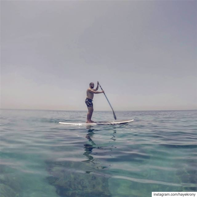 What'SUP?... 🚣‍♂️... standuppaddle  gopro  aquaholic  Outdoorlife ... (Batroûn)