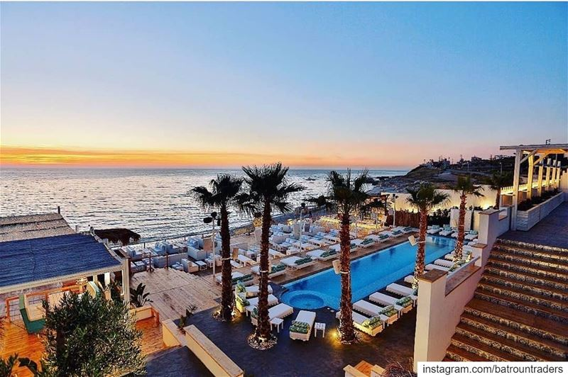 batroun  البترون_سفرة @lataigaresort  beach  resort  restaurant  sea ... (La Taiga resort)