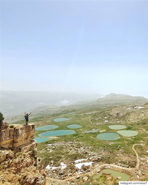 Love her but leave her wild..... hiking  hikingadventures  hikinggear... (Akoura, Mont-Liban, Lebanon)