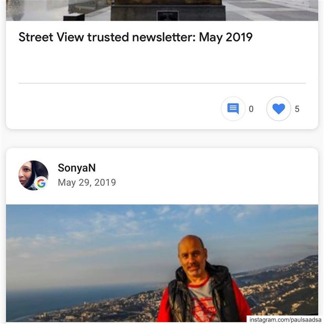 My interview on google street view newsletter  lebanon  beiruting  beirut ... (Beirut, Lebanon)