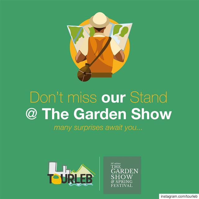 Join us at @gardenshowleb , play and win many prices ! And discover the... (Hippodrome Du Parc De Beyrouth)
