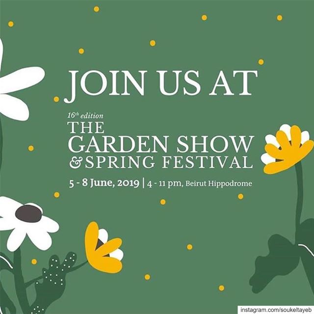 The Garden Show was where the first Souk El Tayeb was born back in 2004,... (The Garden Show & Spring Festival)