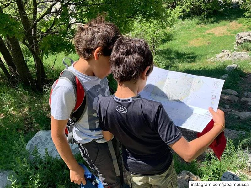 Children and Nature need each other. JabalMoussa  explore   unesco ... (Jabal Moussa Biosphere Reserve)