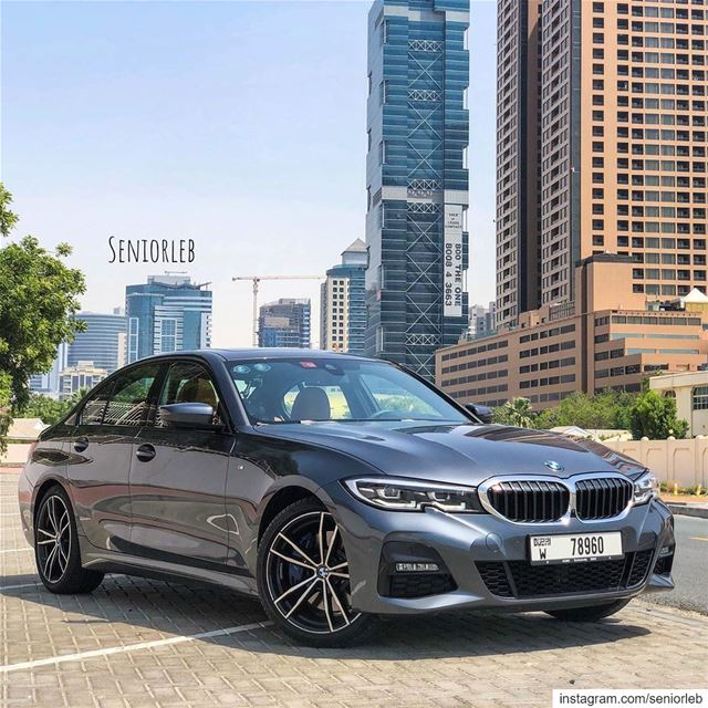 This is the brand new BMW 3 series. This particular car is the 330i and...