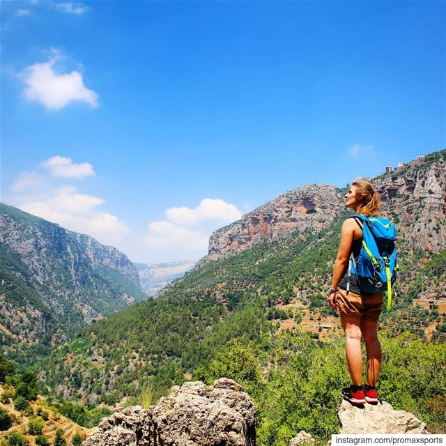 Hike with @promaxsports this Sunday, June 23 from Hadath  el Jebbeh to... (Ouâdi Qannoûbîne, Liban-Nord, Lebanon)