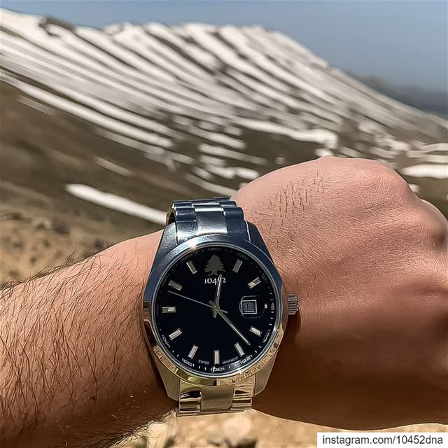 beautiful  sunday with my  10452dna  classic  watch from the  cedars get... (Cedars of God)