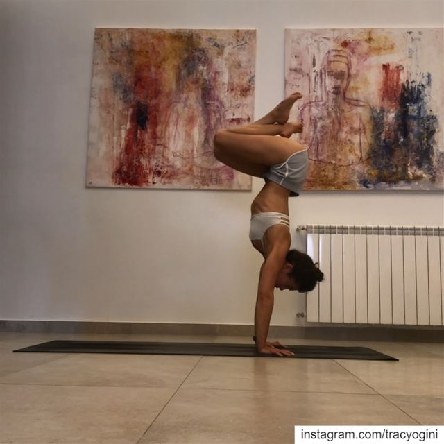 I love practicing ashtanga once a week. I can't practice it much more...