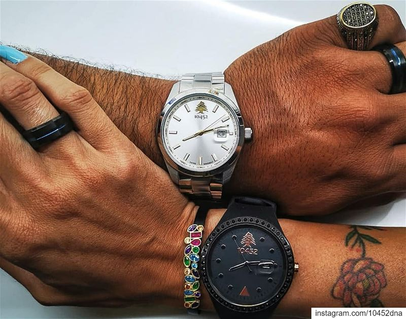 When the  10452dna  classic meet the  fashionwatch in  lebanon ... (Aqua Marina 2)