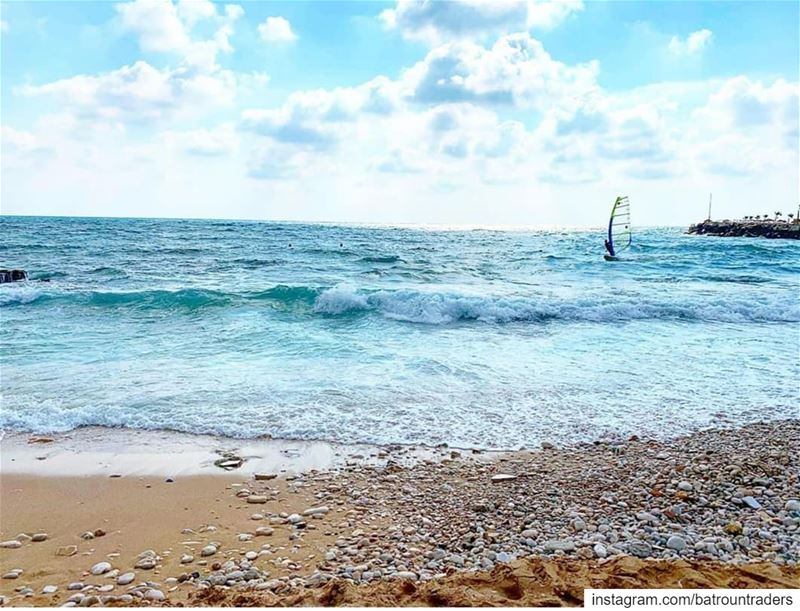 batroun  البترون_سفرة  watersports  windsurfing  windsurf  beach ... (Batroûn)