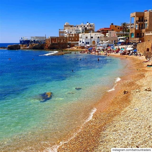 batroun  البترون_سفرة  beach  sea  bahsa  bay  mediterraneansea ... (Batroûn)