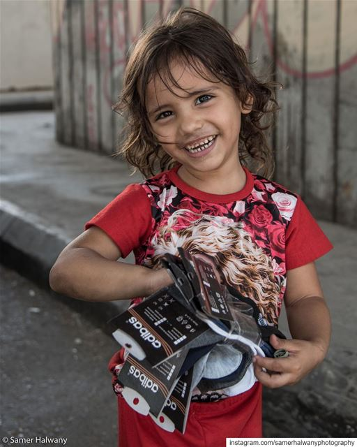 Smile!...back to the  lens , this  child  portrait from  beirut  lebanon...