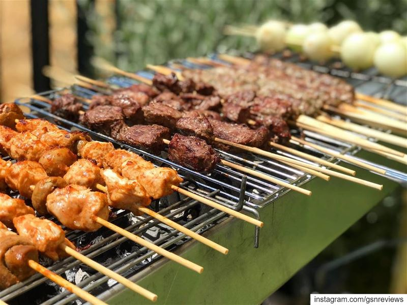 Those who volunteer to grill in a gathering get to completely test the... (Mount Lebanon)